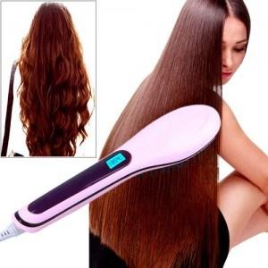 أجهزة - مشط تنعيم الشعر الفوري الكهربائي