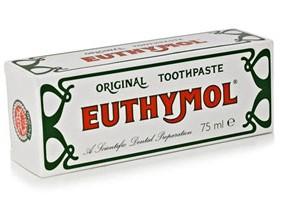 EUTHYMOL معجون التبيض البريطاني
